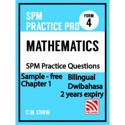 Practice Pro Maths Form 4 (Sample)