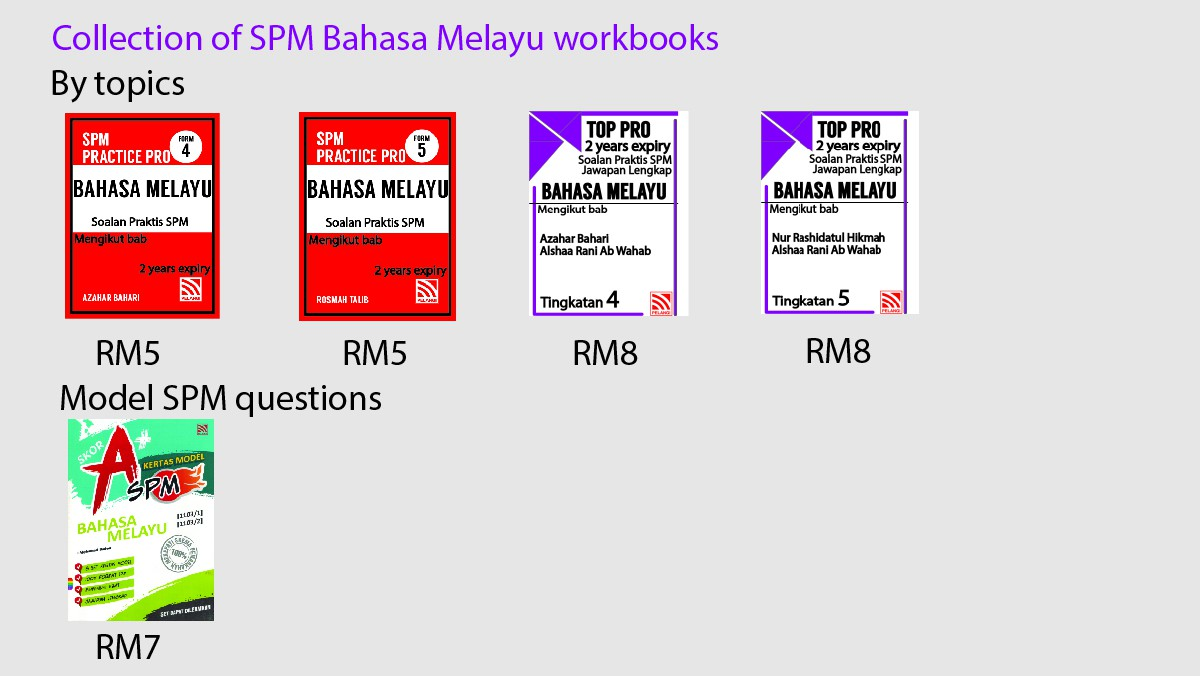 Collection of BM workbooks